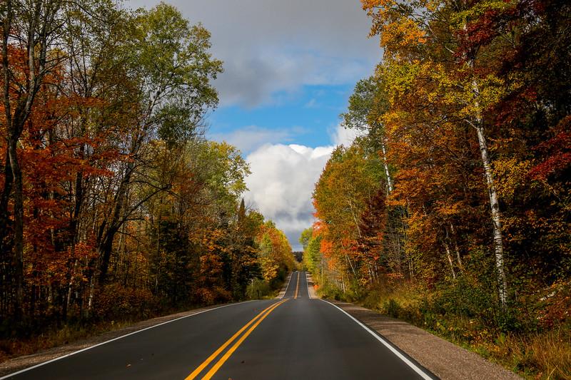 Beautiful Autumn Roads - Hwy B 4