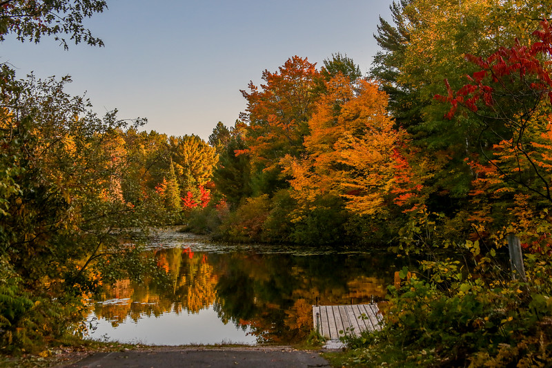 Autumn Color on the Manitowish 8