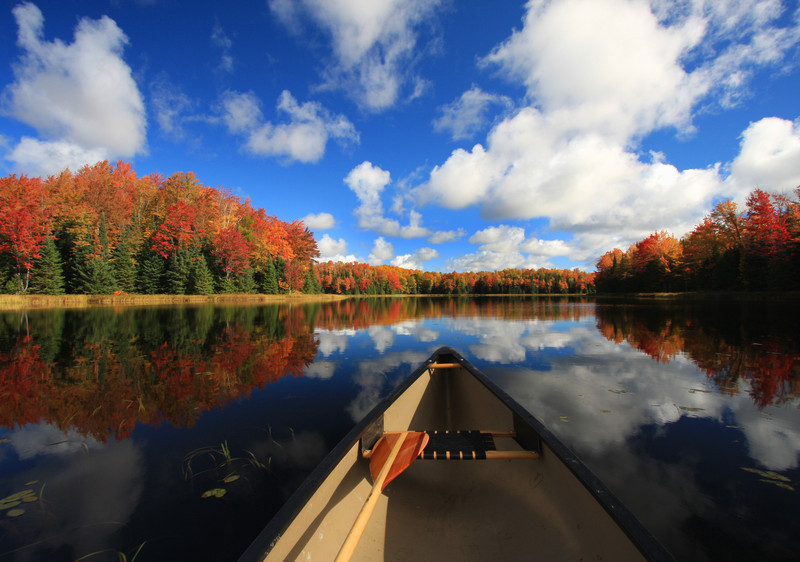 """ Autumn in a Canoe """