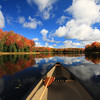 """ Autumn in a Canoe "" 2"