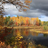 """Fall Colors on the Manitowish River"""