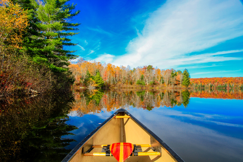 Autumn in a Canoe  9