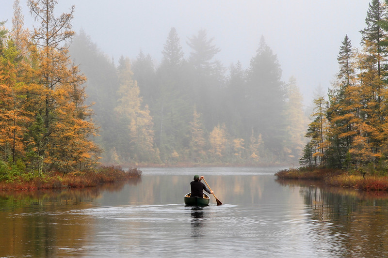 Serenity in a Canoe