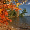 """ October Autumn Surprise ""  3  Boulder Junction Wisconsin"