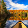 Autumn in a Canoe   5