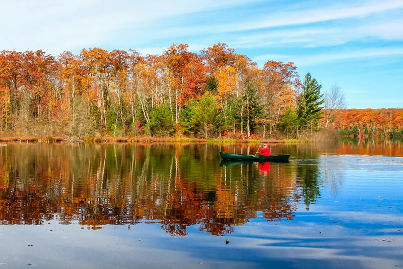 Autumn in a Canoe   12