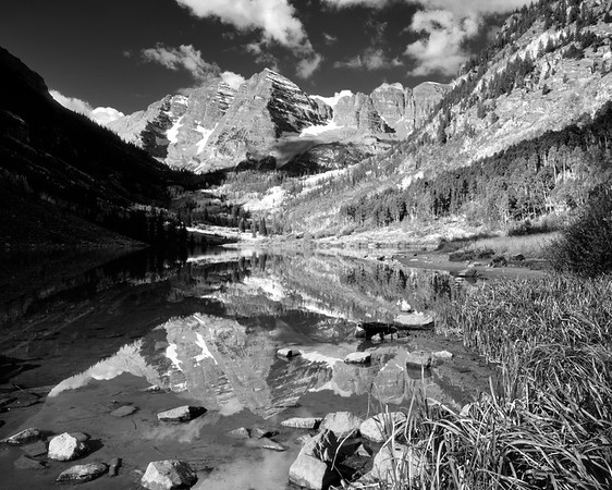 Maroon Bells in September, 2008
