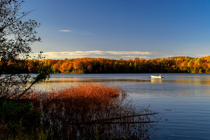 Fishing on Little Horsehead Lake