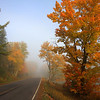 """  A Foggy Autumn Morning in Northern Wisconsin  "" 2"