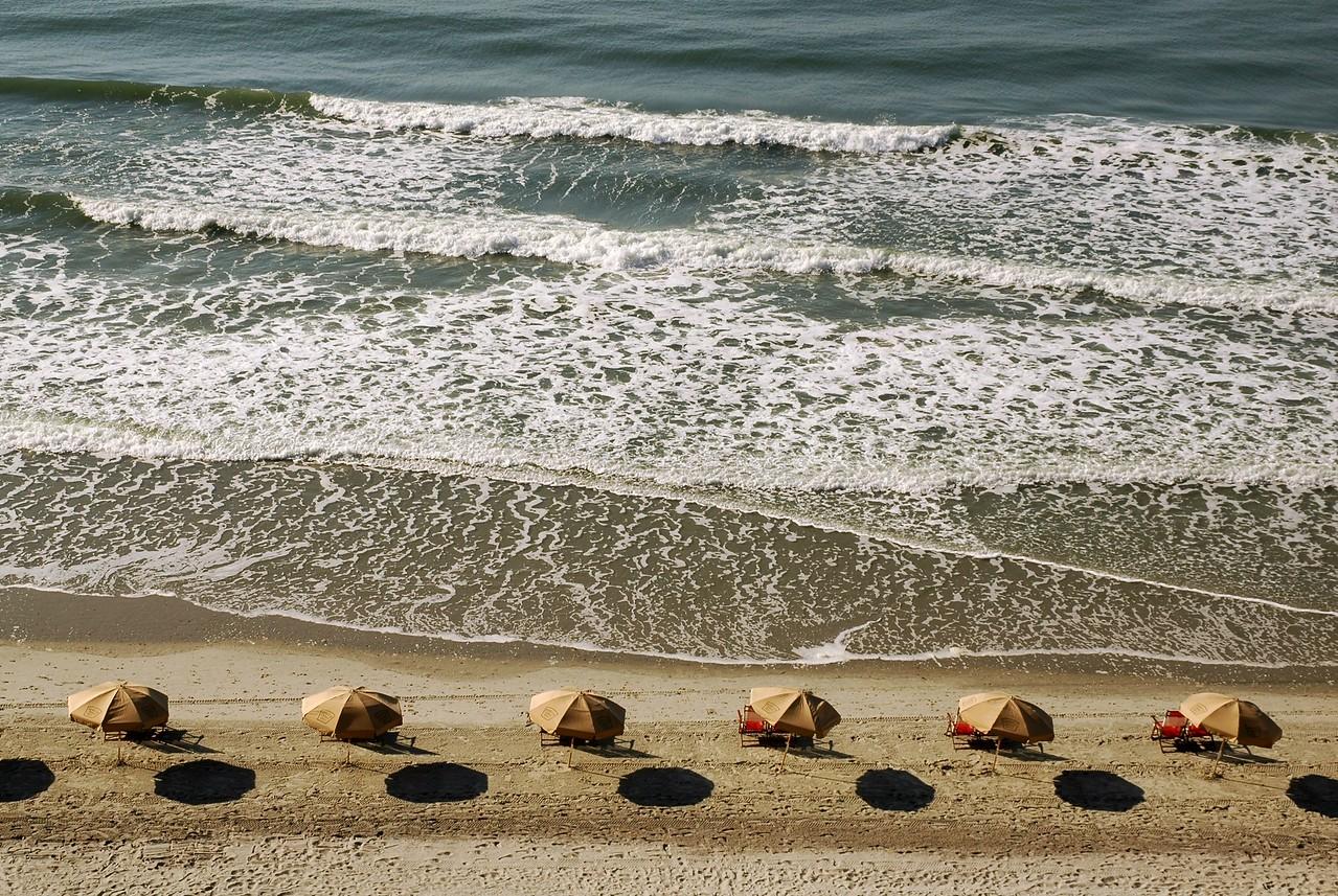 """""""Beach Umbrellas""""  Umbrellas at Myrtle Beach, SC"""