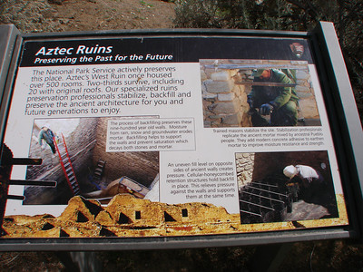 Aztec Ruins National Monument, New Mexico,   2011 March