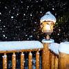 LANTERN in SNOWSTORM