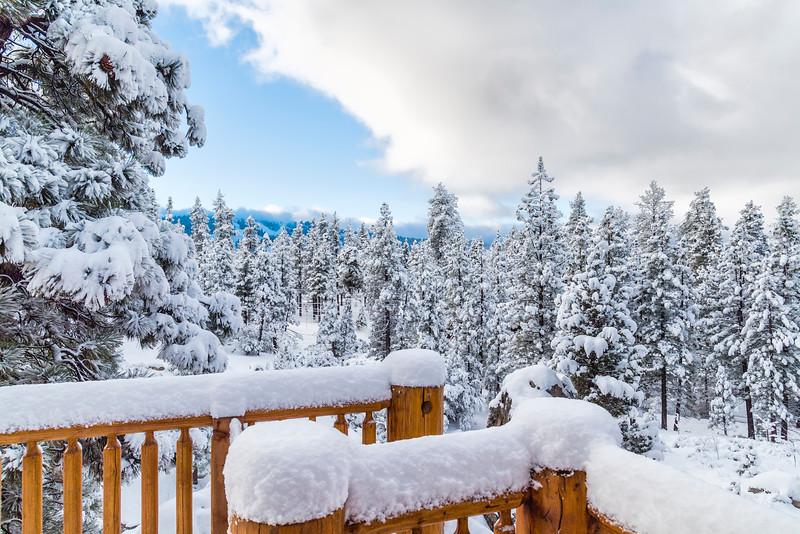 CRISP & CLEAR POST SNOWSTORM