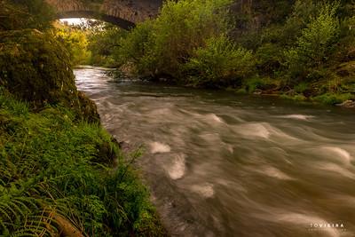 Ponte do Padre - rio Caima