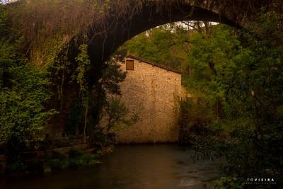 Ponte do Açude do Pego - rio Caima