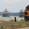 Modes of transportation on the Panama Canal