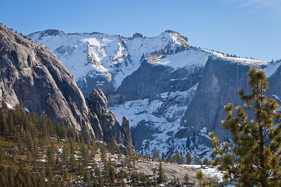 View of Quarter Dome in Yosemite.