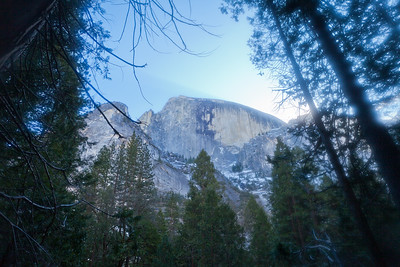 View of Half Dome taken from Mirror lake.