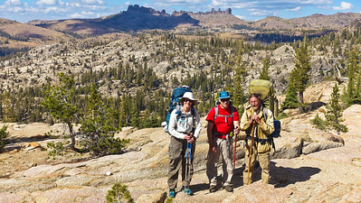Alex, Simon, and Alex love Emigrant Wilderness!