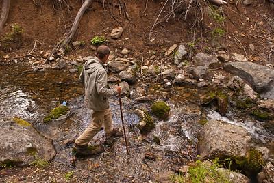 Easy stream crossing.