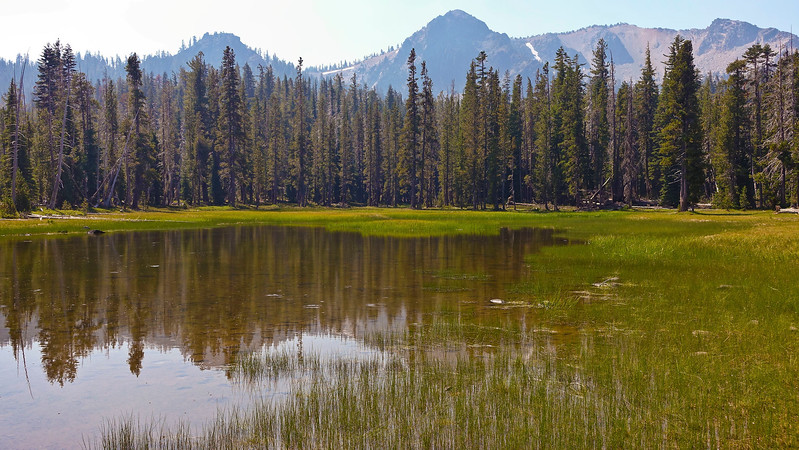 """Upper Twin """"Lake"""" is actually more of a pond."""