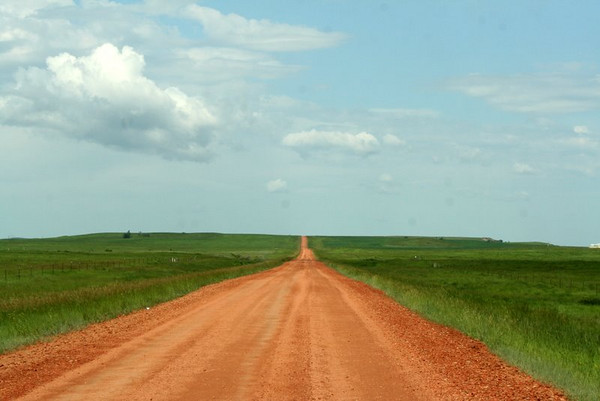This is the road to nowhere.  LOL  It was one road leading to the Badlands.