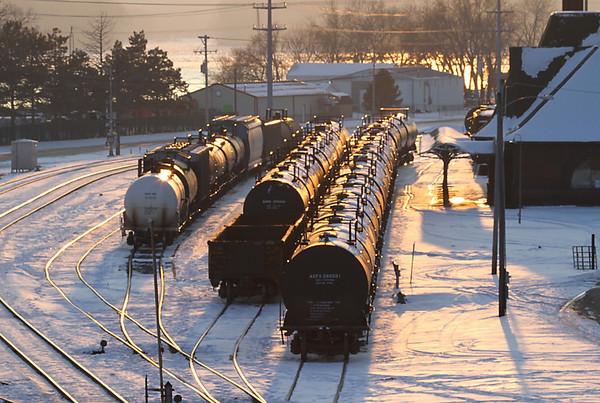 Keokuk Rail Yard