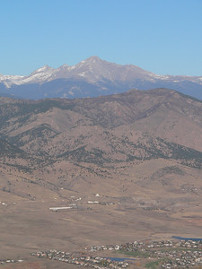 Longs Peak from the ballon