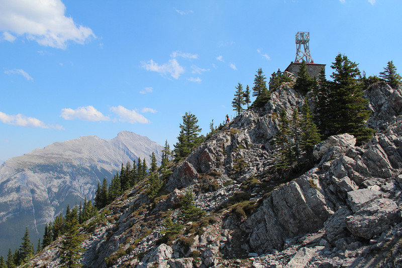 The weather/cosmic ray station atop Sulphur Mountain.  (Apparently, there were several cosmic ray stations around the world back in the 1960s and 1970s.  Sounds about right...)