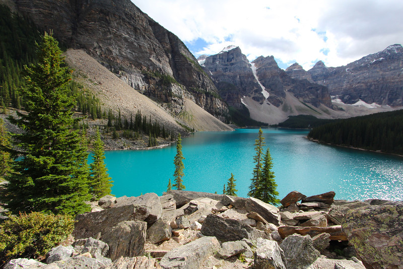 Quite possibly my favorite shot of the entire trip (at Moraine Lake).