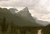 One of the stunning views along the Icefields Parkway, connecting Banff and Jasper Provencial Parks.