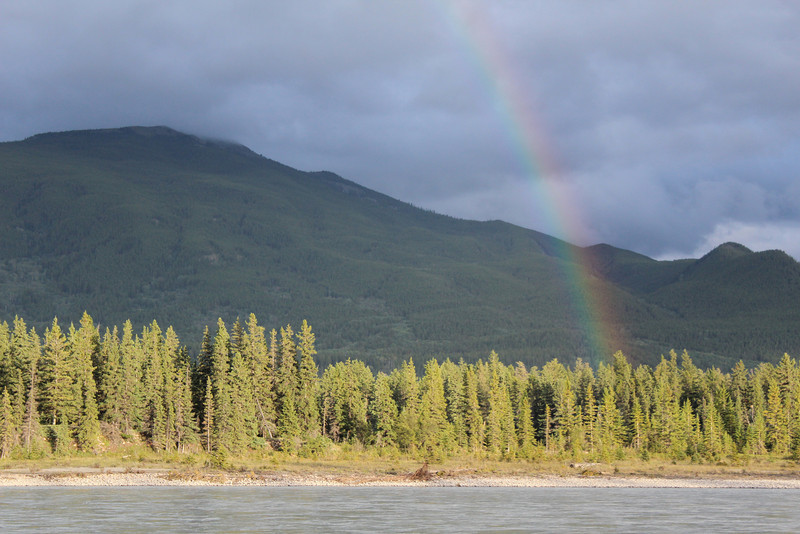 Another rainbow to make up for all the rain...