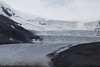 The Athabasca Glacier--part of the massive Columbia Icefield.