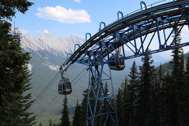 Time to ride the Banff Gondola!
