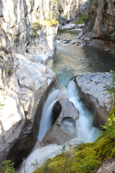 """The Maligne (pronounced """"ma-lean"""") Canyon was a highlight of the trip."""