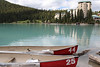 Canoes for rent at Lake Louise.