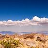 Clouds floating over Barcroft Peak.