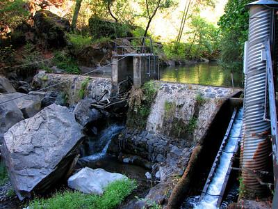 Wildcat Diversion Dam, Battle Creek