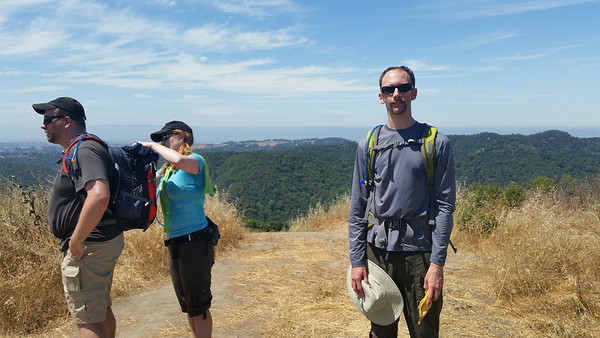 Bay Area Ridge Trail July 2014
