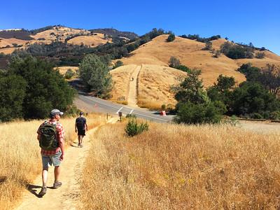 Mt. Diablo Day Hike: Aug 26, 2018