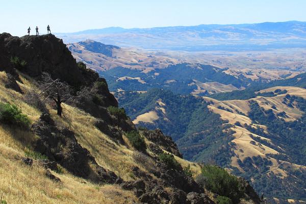 Mount Diablo Hike/Camp: Jun 16-18, 2017