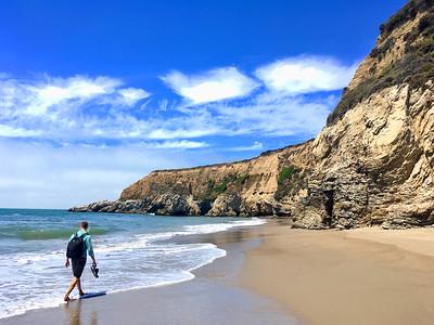 Pt Reyes, Peak to Beach Hike: Jul 29, 2018