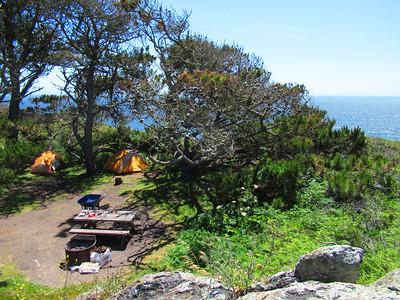Steep Ravine Campground: May 9-10, 2018