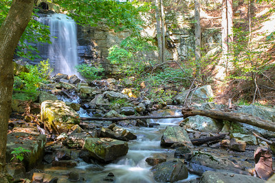 Waterfall at Bays Mountain