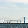 The Fred Hartman Bridge or Baytown Bridge between Baytown and La Porte.