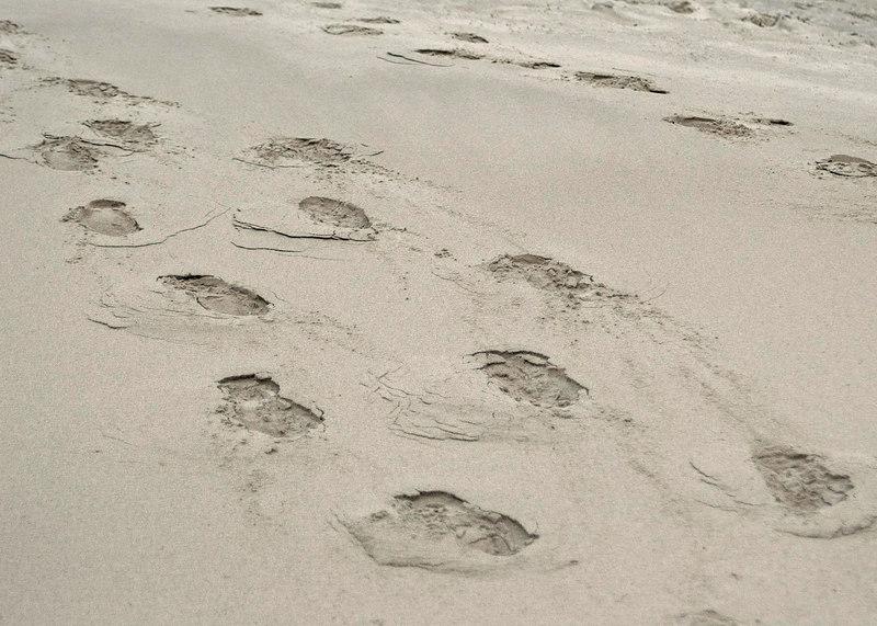 footprintsSand