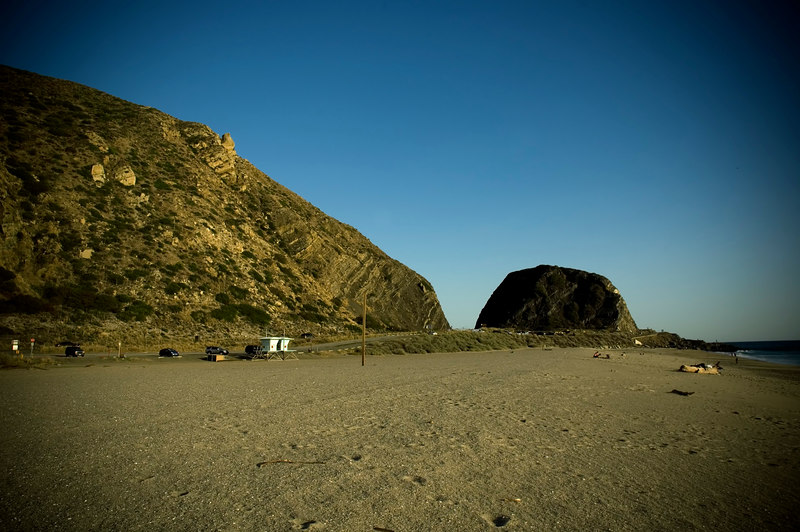 My first time on Point Mugu sand; it was windy.