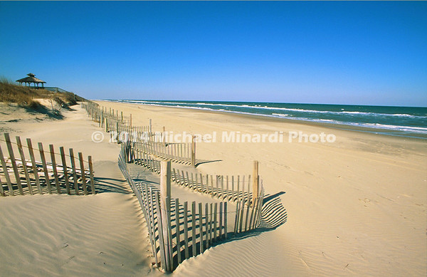 Outer Banks Beach Scene
