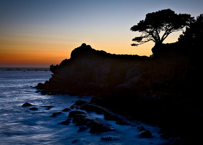 Sunset at Salt Point State Park