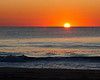 Sun rises in Ocean City Maryland